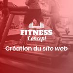 Fitness Concept <br> Création du site web
