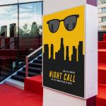 Affiche minimaliste du film « Nightcall »