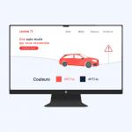 Auto-École Lambda 75 <br> Création du site web